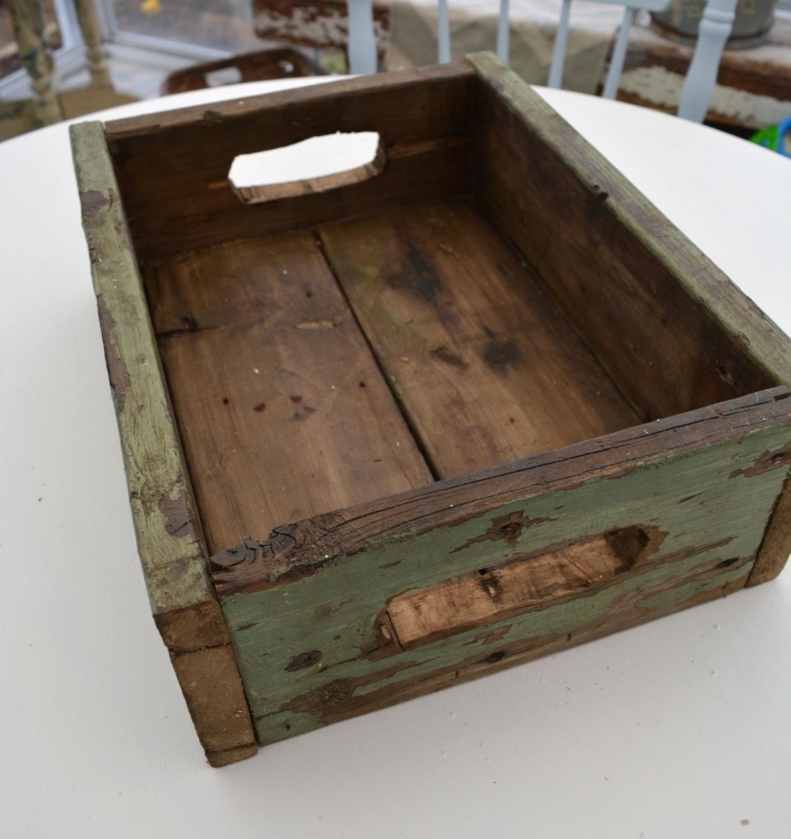 Boite en bois recyclé rustique chic4