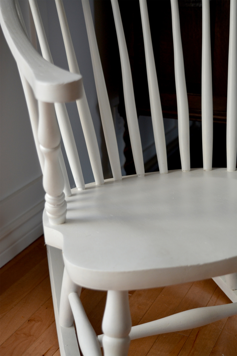 Windsor Rocking Chair White