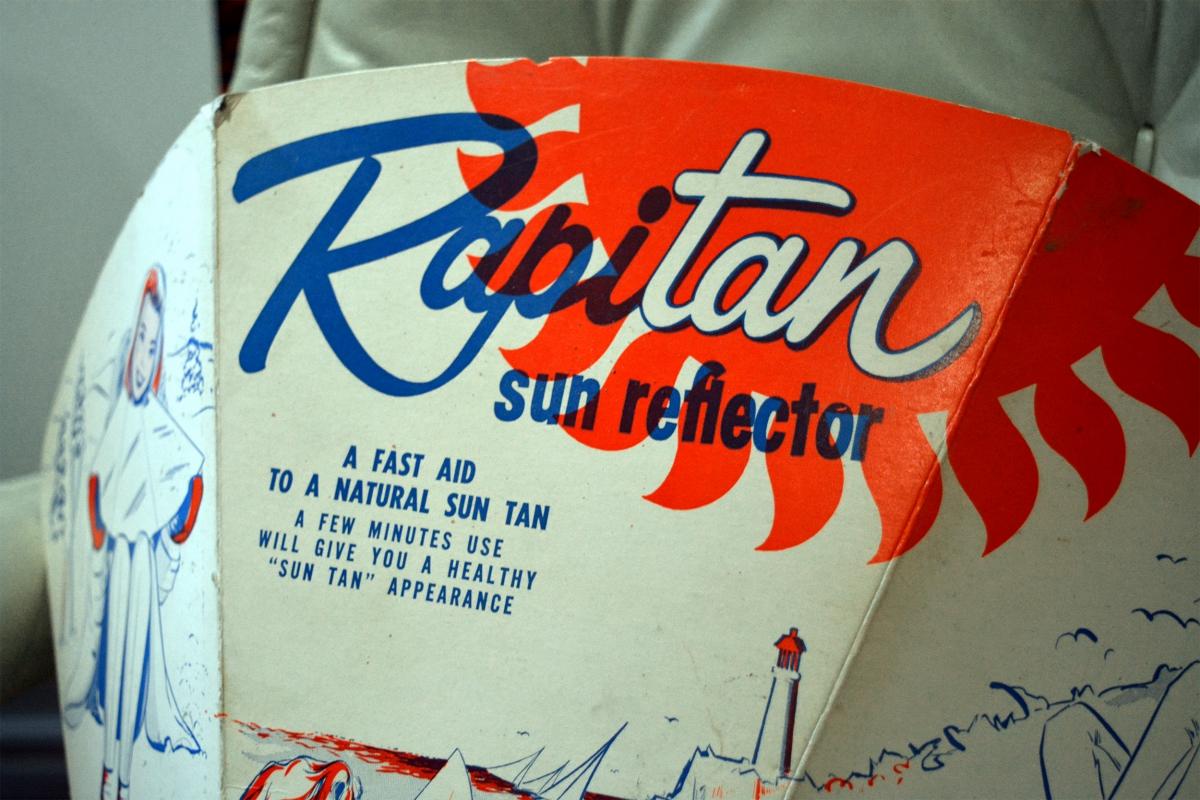 Réflecteur solaire Rapitan, 1950 pub vintage3