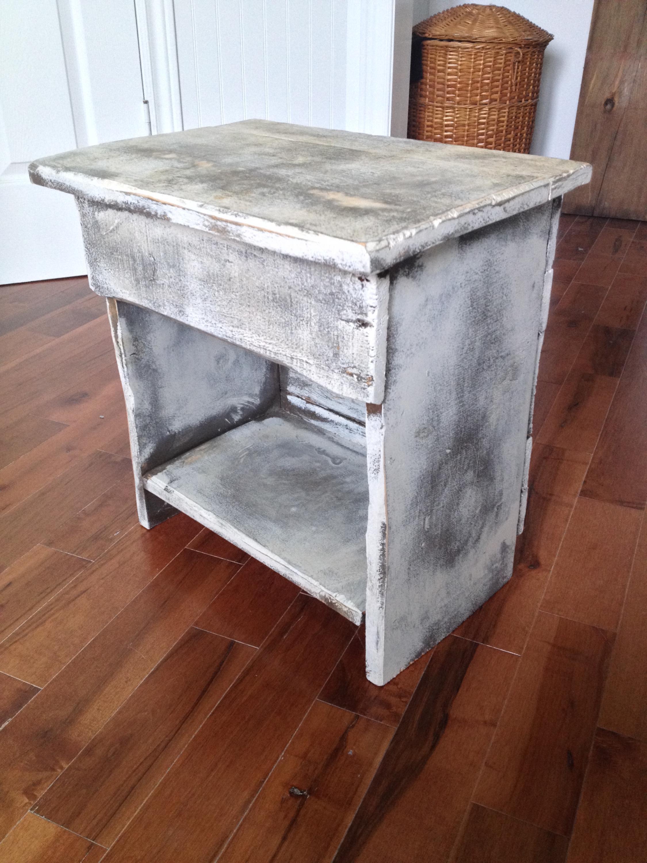Table de chevet, meuble farmhouse2