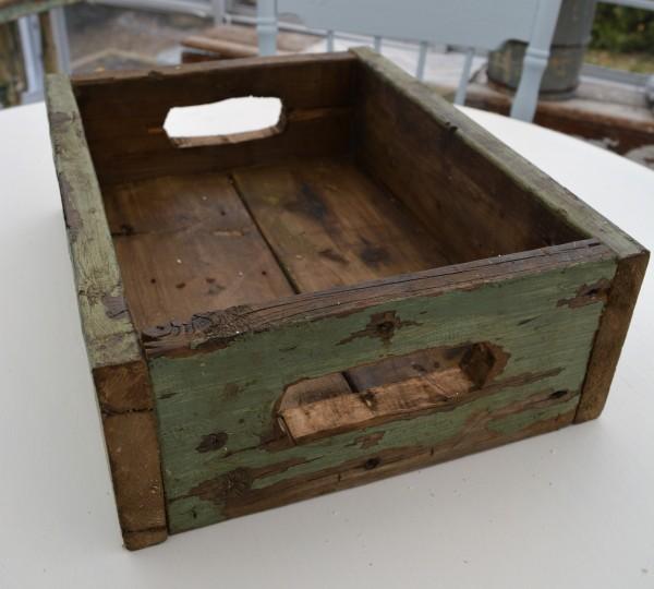 Boite en bois recyclé rustique chic