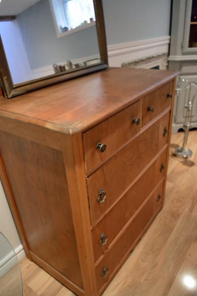 Commode ou table à langer 5 tiroirs en bois