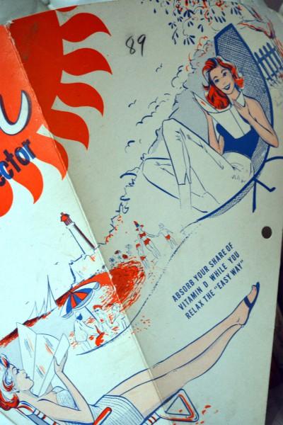 Réflecteur solaire Rapitan, 1950 pub vintage2