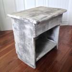 Table de chevet, meuble shabby chic