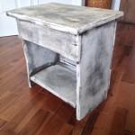Table de chevet, meuble shabby chic 2