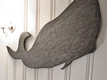 Baleine en bois rustique bois recyclé