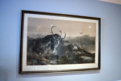 Cadre print peint par Sir Edwin Landseer, R.A.