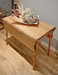 Table à panneaux antique, rustique en bois