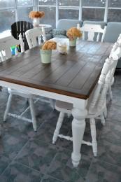 table de salle manger crme